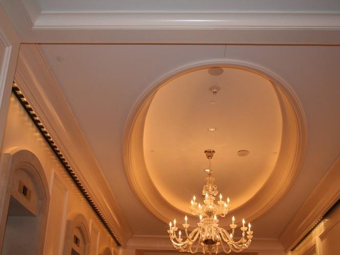 Овальный потолок из гипсокартона